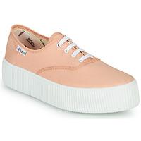 Zapatos Mujer Zapatillas bajas Victoria DOBLE LONA Coral