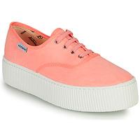Zapatos Mujer Zapatillas bajas Victoria DOBLE FLUO Coral