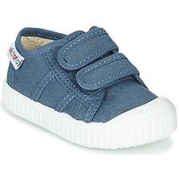 Zapatos Niños Zapatillas bajas Victoria BASKET VELCRO Azul