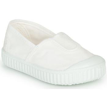 Zapatos Niña Zapatillas bajas Victoria CAMPING TINTADO Blanco