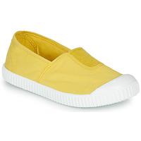 Zapatos Niña Zapatillas bajas Victoria CAMPING TINTADO Amarillo
