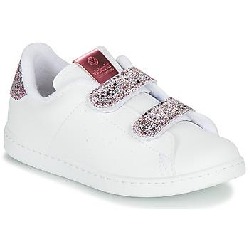 Zapatos Niña Zapatillas bajas Victoria TENIS VELCRO G Blanco