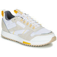 Zapatos Mujer Zapatillas bajas Reebok Classic CL LEATHER RIPPLE T Beige / Blanco