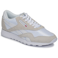 Zapatos Zapatillas bajas Reebok Classic CL NYLON Blanco / Beige