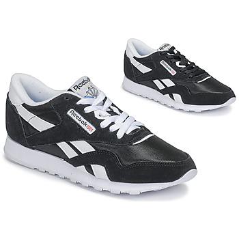 Zapatos Mujer Zapatillas bajas Reebok Classic CL NYLON Negro