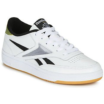 Zapatos Mujer Zapatillas bajas Reebok Classic CLUB C REVENGE MARK Blanco / Oro
