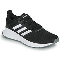 Zapatos Mujer Running / trail adidas Performance RUNFALCON Negro / Blanco
