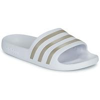 Zapatos Chanclas adidas Performance ADILETTE AQUA Blanco
