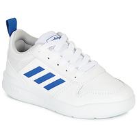 Zapatos Niño Zapatillas bajas adidas Performance TENSAUR K Blanco / Azul