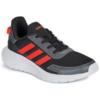 Zapatos Niño Zapatillas bajas adidas Performance TENSAUR RUN K Negro / Rojo
