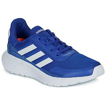Zapatos Niño Zapatillas bajas adidas Performance TENSAUR RUN K Azul / Blanco