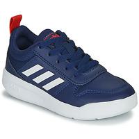 Zapatos Niños Zapatillas bajas adidas Performance TENSAUR K Azul / Blanco