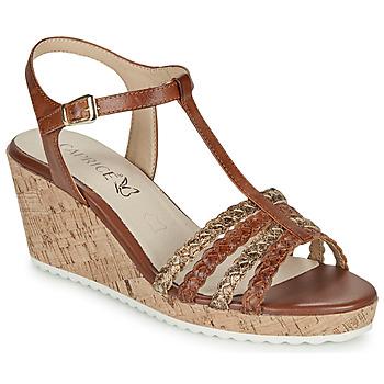 Zapatos Mujer Sandalias Caprice POUDALLE Cognac