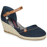 Zapatos Mujer Sandalias Dockers by Gerli  Marino