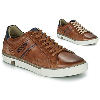 Zapatos Hombre Zapatillas bajas Dockers by Gerli  Cognac