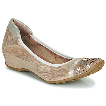 Zapatos Mujer Bailarinas-manoletinas Mam'Zelle FETE Nude