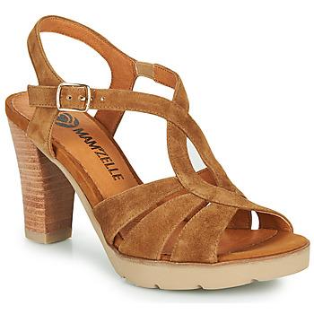 Zapatos Mujer Sandalias Mam'Zelle TIMBA Cognac