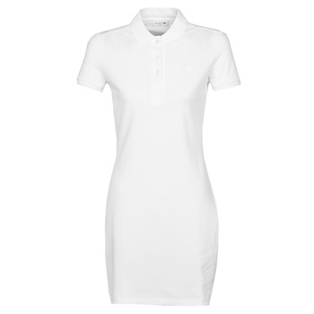 textil Mujer vestidos cortos Lacoste EUGENIE Blanco