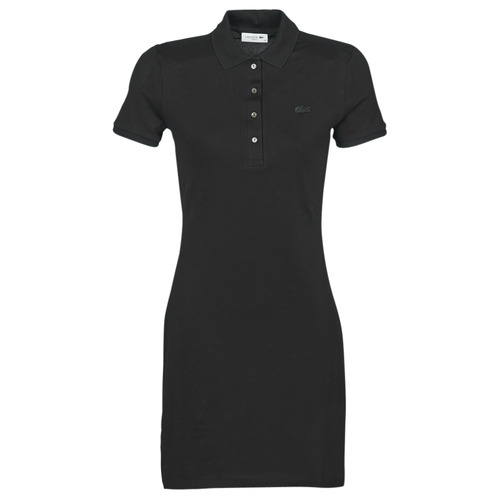textil Mujer vestidos cortos Lacoste GAIL Negro