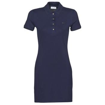textil Mujer vestidos cortos Lacoste SOLENE Marino