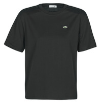 textil Mujer camisetas manga corta Lacoste BERNARD Negro