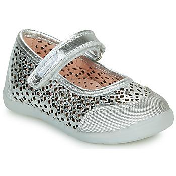 Zapatos Niña Bailarinas-manoletinas Pablosky  Plata