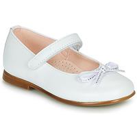 Zapatos Niña Bailarinas-manoletinas Pablosky  Blanco