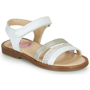 Zapatos Niña Sandalias Pablosky PINNA Blanco / Nacar