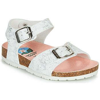 Zapatos Niña Sandalias Pablosky  Blanco / Plata
