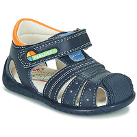 Zapatos Niño Sandalias Pablosky  Marino / Naranja