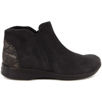 Zapatos Mujer Botines Arcopedico ISABEL NUBUCK NEGRO NEGRO