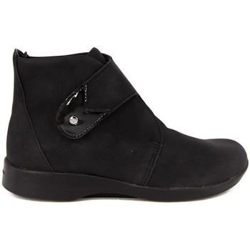 Zapatos Mujer Botines Arcopedico BEATRIZ NUBUCK NEGRO NEGRO