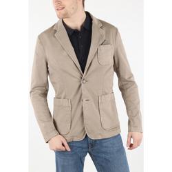 textil Hombre Chaquetas / Americana Gas FANCIERS/S PATCH Beige