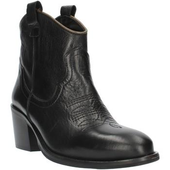 Zapatos Mujer Botines Exton MZ40 negro