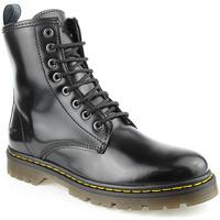 Zapatos Mujer Botas de caña baja Alex L Boot Lady Negro