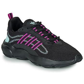 Zapatos Mujer Zapatillas bajas adidas Originals HAIWEE W Negro / Violeta