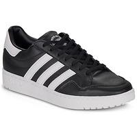 Zapatos Zapatillas bajas adidas Originals MODERN 80 EUR COURT Negro / Blanco