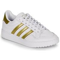 Zapatos Mujer Zapatillas bajas adidas Originals MODERN 80 EUR COURT W Blanco / Oro