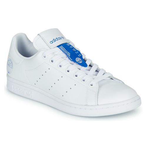 Zapatos Zapatillas bajas adidas Originals STAN SMITH Blanco