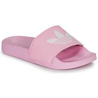 Zapatos Mujer Chanclas adidas Originals ADILETTE LITE W Rosa