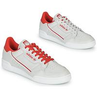 Zapatos Zapatillas bajas adidas Originals CONTINENTAL 80 Beige / Rojo