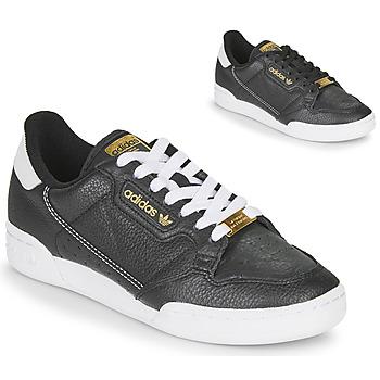 Zapatos Mujer Zapatillas bajas adidas Originals CONTINENTAL 80 Negro
