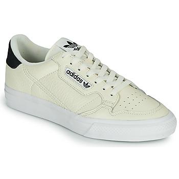Zapatos Zapatillas bajas adidas Originals CONTINENTAL VULC Beige