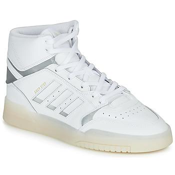 Zapatos Hombre Zapatillas altas adidas Originals DROP STEP Blanco