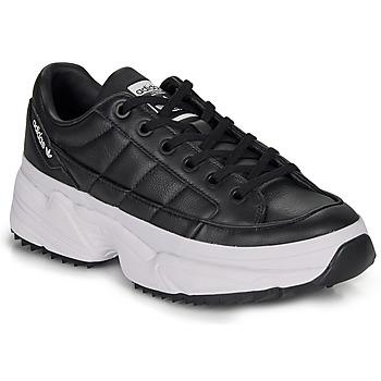 Zapatos Mujer Zapatillas bajas adidas Originals KIELLOR W Negro