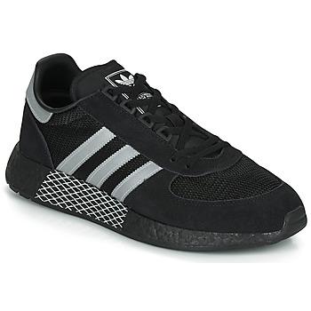 Zapatos Zapatillas bajas adidas Originals MARATHON TECH Negro / Blanco