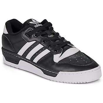 Zapatos Hombre Zapatillas bajas adidas Originals RIVALRY LOW Negro / Blanco