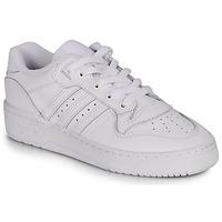 Zapatos Mujer Zapatillas bajas adidas Originals RIVALRY LOW W Blanco
