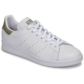 Zapatos Zapatillas bajas adidas Originals STAN SMITH Blanco / Beige
