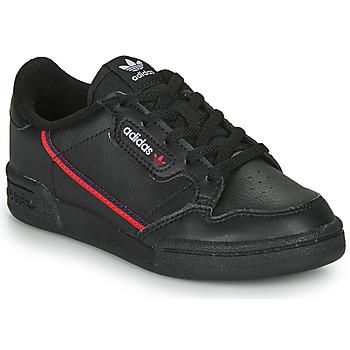 Zapatos Niños Zapatillas bajas adidas Originals CONTINENTAL 80 C Negro